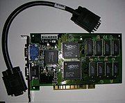 A Diamond Monster 3D, utilizing the Voodoo 1 chipset