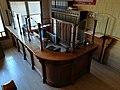 41 Fàbrica d'Anís del Mono (Badalona), taulell de recepció.jpg