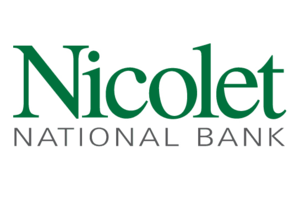 Nicolet Bankshares - Logo of Nicolet National Bank, which consists of only letters.