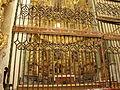 43a Tamara de Campos Iglesia San Hipolito reja presbiterio ni.JPG