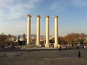 The Four Columns - Image: 4 columnes