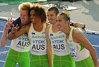 4x400 m Australia Berlin 2009.JPG