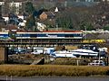 59102 Allington ARC Siding to Whatley Quarry crossing creek by Pelican Cruising Club Strood (32646160366).jpg
