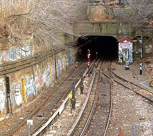 South Brooklyn Railway - Another view of SBK merge with BMT West End Line