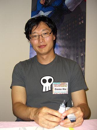 Gene Ha - Gene Ha at the 2008 Big Apple Comic Convention