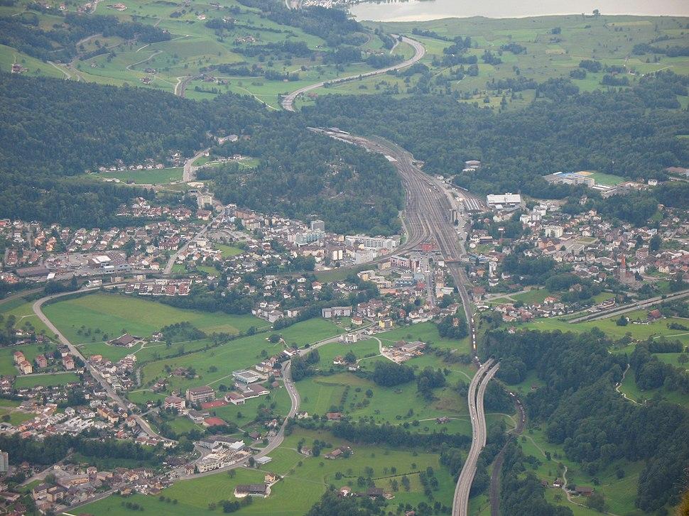 6650 - Goldau - View from Rigi Kulm