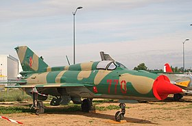 770 a Mikoyan MiG-21SPS Fishbed East German Air Force (3252035773).jpg