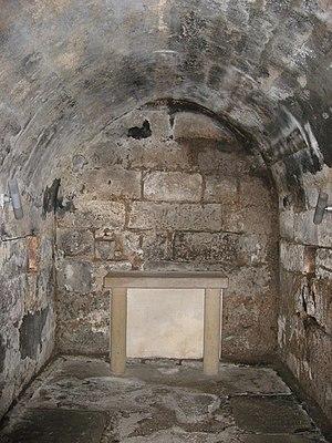 Wilfrid - Image: 7th century Hexham crypt