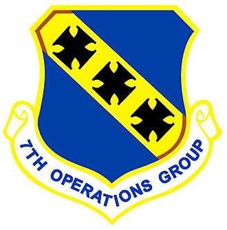 7th Operations Group - Shield of the 7th Operations Group
