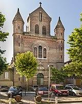 81 - Rabastens - Église St Pierre Des Blancs - Façade.jpg