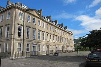 South Parade, Bath - Image: 9 13 South Parade, Bath