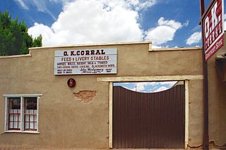 O.K. Corral (building) United States historic place