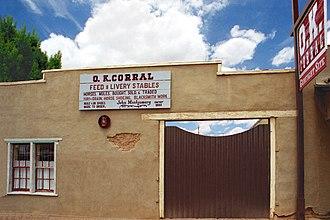 O.K. Corral (building) - Allen Street frontage