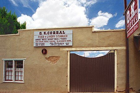 A090, OK Corral, Tombstone, Arizona, USA, 2004