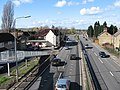 A1 looking north from footbridge - geograph.org.uk - 351963.jpg