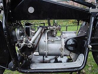 ABC motorcycles - Image: ABC Sopwith 400 cc engine 1919