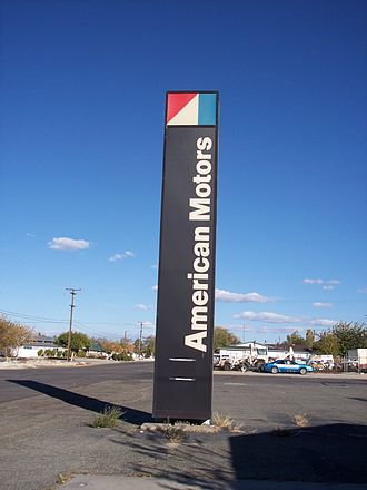 American Motors Corporation - American Motors dealership sign