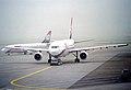 AMC Aviation Airbus A300B4-203; SU-BMM@ZRH;28.09.1997 (6470798435).jpg