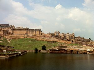 AMER FORT and lake