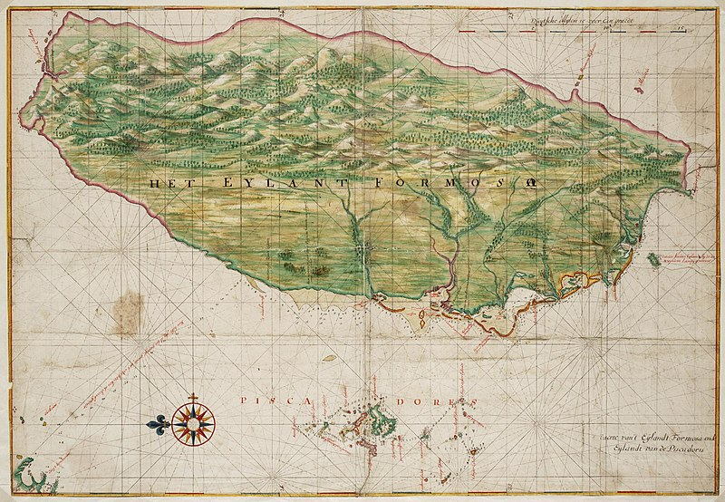 Map of the island of Formosa