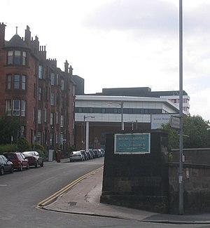 Royal Hospital for Sick Children, Glasgow - Image: AM Yorkhill RHSC