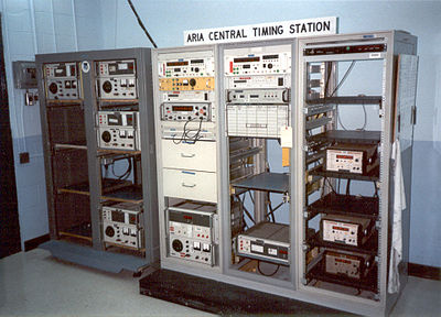 The ARIA Central Timing Station - 4950th Test Wing