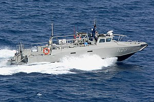 Naval operations of the Mexican Drug War - Mexican Navy patrol boat of Cabo San Lucas in 2005.