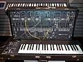 ARP 2600 synthesizer, E-mu Emulator, Museum of Making Music.jpg
