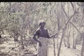ASC Leiden - Coutinho Collection - doos-1 26 - Trip to Senegalese border from Candjambary, Guinea-Bissau - Woman with a rice basket - 1974.tif