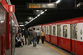 ATM Metro Line 1 Loreto (1964) with 1963-70 built train.jpg