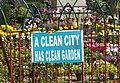 A Clean City Has Clean Garden (14838302724).jpg