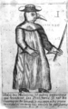A Plague Doctor – from Jean-Jacques Manget, Traité de la peste (1721); University of Lausanne version.png