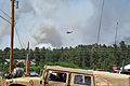 A U.S. Army UH-60 Black Hawk helicopter assigned to the Colorado Army National Guard provides firefighting assistance for the Black Forest Fire in El Paso County, Colo., June 12, 2013 130612-Z-WF656-016.jpg