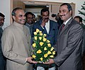 A delegation led by the Andhra Pradesh Chief Minister Dr. Y.S.Rajasekhara Reddy called on the Union Minister for Health and Family Welfare Dr. Anbumani Ramadoss, in New Delhi on January 11, 2007.jpg