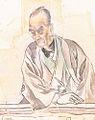 A portrait of Noguchi Yukoku 野口幽谷之像画稿.jpg