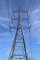 A pylon at Sainsbury's Low Hall car park from the west.jpg