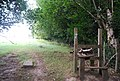 A rather pointless stile, Tunbridge Wells Circular Path - geograph.org.uk - 1492492.jpg