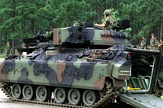 5th Infantry Division (United States) - An M3 Bradley of 3-1CAV