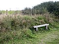 A simple wooden seat - geograph.org.uk - 984089.jpg
