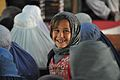 A young girl pictured on International Womens Day in Helmand, Afghanistan. (8280040719).jpg