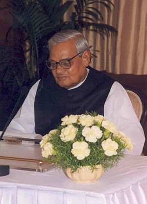 Pokhran-II - During the 1998 Indian general election, BJP's Atal Bihari Vajpayee promised to carry out nuclear tests.
