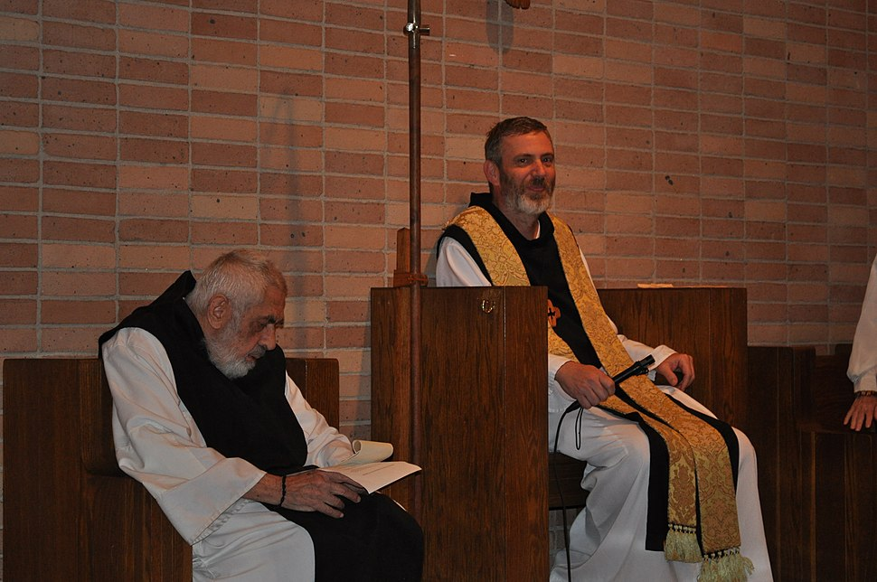 Abbot Francis Michael and Prior Anthony Delisi