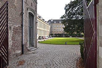 Drongen - Image: Abdij van Drongen 3 10 2010 14 42 55