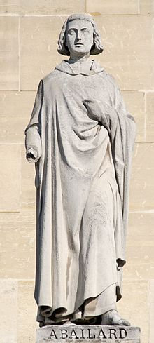 Statue of Abelard at Louvre Palace in Paris by Jules Cavelier (Source: Wikimedia)