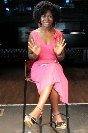 Abiola Abrams -  Highline Ballroom in Manhattan hosting web TV show.