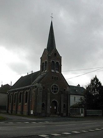 Ablainzevelle - The church of Ablainzevelle