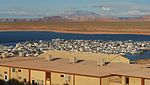 Above the Marina on Lake Powell, Near Page Arizona (3448803815).jpg
