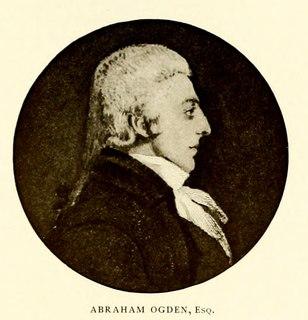 Abraham Ogden American politician (1743-1798)