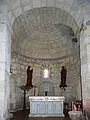 Absidiole de gauche - église Saint-Martin de Pouillon.jpg