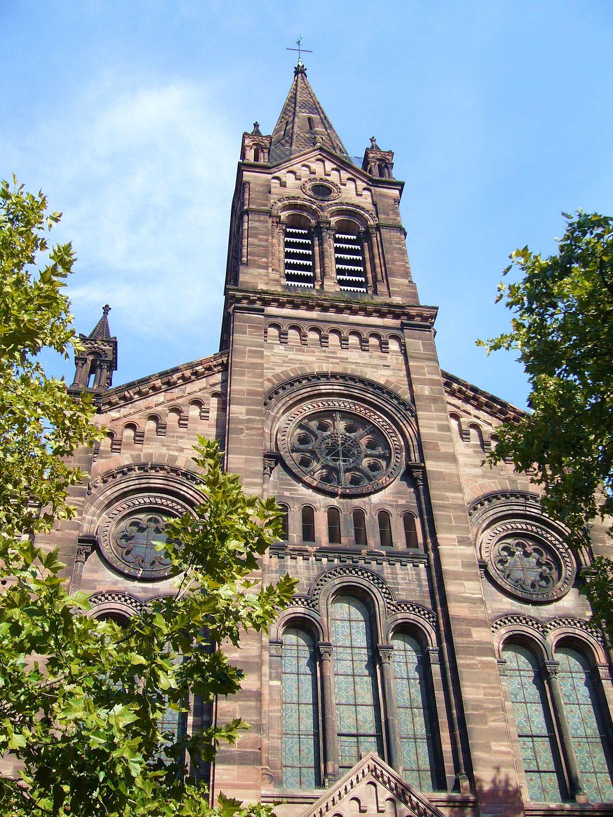 église du Temple Neuf de Strasbourg — Wikipédia